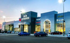 Dick Edwards Auto Plaza Signage