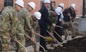 Ground Breaking for National Guard
