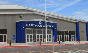 Hartman Arena Groundbreaking