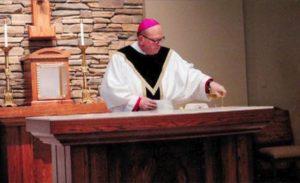 New Church, Cunningham, Consecrates Altar